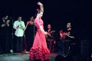 Un espectáculo de flamenco en Casa Patas