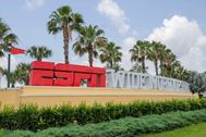 Kissimmee (United States).- Disney World's ESPN Wide World of Sports complex in Kissimmee, Florida, USA, 28 May 2020. Both the National Basketball Association ( lt;HIT gt;NBA lt;/HIT gt;) and Major League Soccer (MLS) are considering resuming their seasons the multi sport complex outside of Orlando, Florida. Major sports leagues' seasons have been suspended due to the coronavirus COVID-19 pandemic. (Baloncesto, Estados Unidos) EPA/