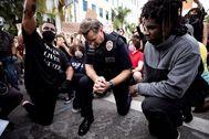 El comandante de la Policía de Los Ángeles, Cory Palka.