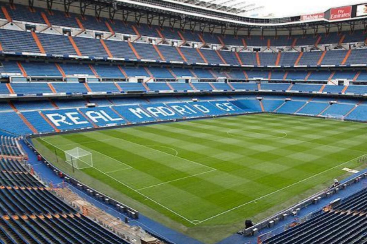 El Santiago Bernabéu.