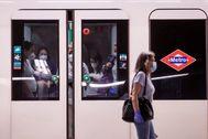 Usuarios del Metro de Madrid