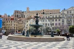 Plaza Dom Pedro IV de Lisboa.