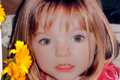 Lagos (Portugal).- (FILE) A file photograph dated 12 May 2007, reissued 04 May 2019 shows a poster displayed of three-year-old lt;HIT gt;Madeleine lt;/HIT gt; McCann, a British girl who went missing in 2007 while on holiday with her parents in Praia da Luz, in Lagos, Portugal. According to reports on 03 June 2020, a 43-year old German prisoner is identified as suspect in the disappearance of lt;HIT gt;Madeleine lt;/HIT gt; McCann. (Reino Unido) EPA/ *** Local Caption *** 55167130
