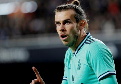 Bale, en el último partido del Madrid en Mestalla.