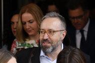 El ex portavoz de Ciudadanos en el Congreso Juan Carlos Girauta.