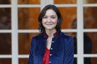 La ministra Reyes Maroto, en La Moncloa.