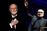 John Williams y Ennio Morricone.
