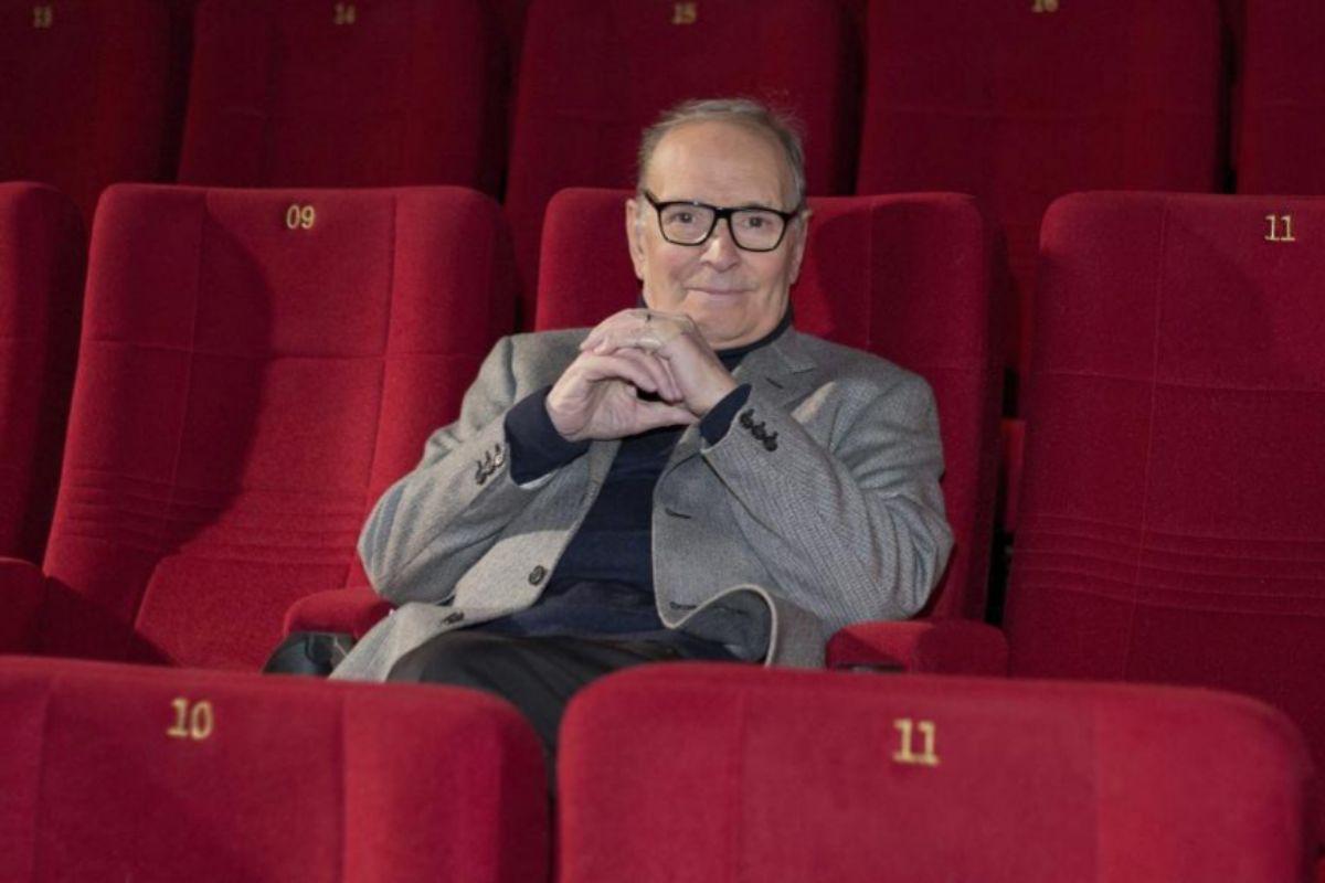 El compositor Ennio Morricone en 2013 en la Berlinale.