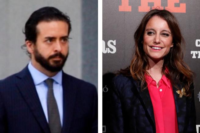 Pepe Ruiz-Gallardón y Andrea Levy