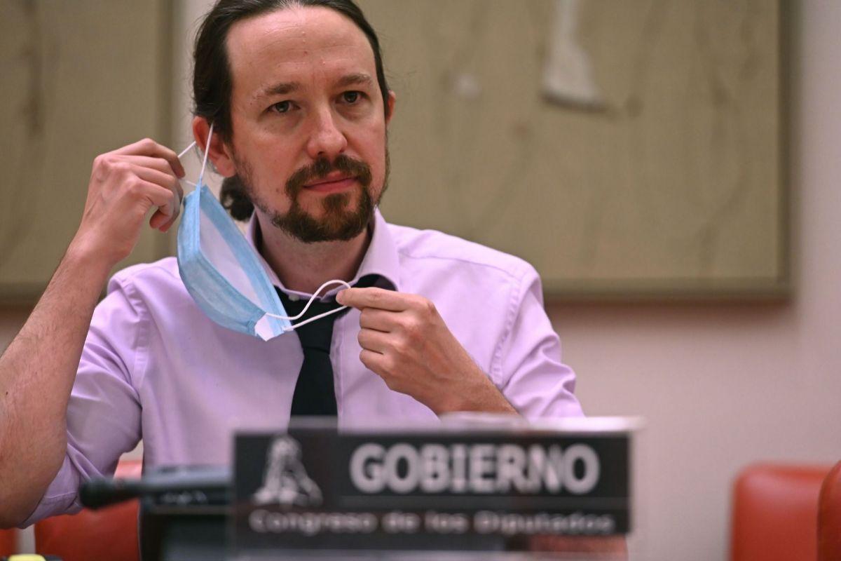 """Pablo Iglesias acusa a """"la derecha de las caceroladas"""" de """"pretender influir"""" en los poderes del Estado para gobernar"""