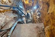 El antiguo túnel de Hizbulá en la frontera.