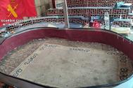Lugar donde se celebraban las peleas de gallos.