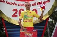 Javier Sardá, tras ganar por segunda vez la Vuelta a Vietnam.