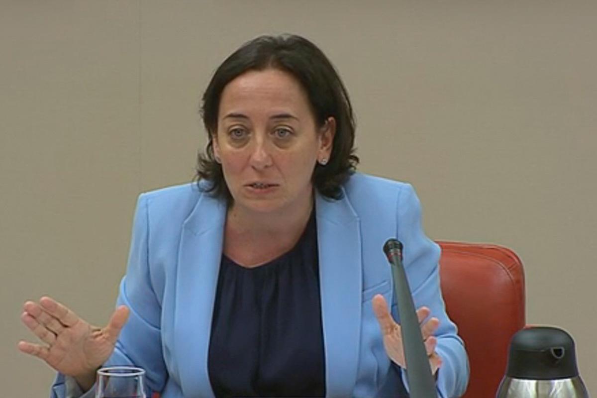 La juez instructora del 'caso 8-M', Carmen Rodríguez-Medel.