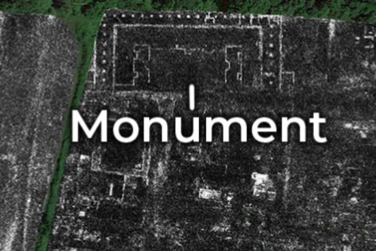 Emplazamiento del atípico monumento de la ciudad