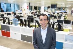 Luis del Pozo, CEO de Legálitas, posa en la redacción de EL MUNDO.