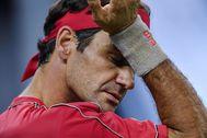 Roger Federer, en el pasado Masters de Shanghai.