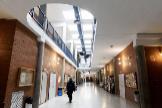 Facultad de Biología de la Universidad Autónoma de Madrid, vacía por el coronavirus.