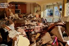 """""""Los vecinos han rebotado en la cama"""": una anciana muerta y su marido herido en una gran explosión"""