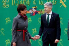 María Gámez ha optado por un perfil tan bajo que una asociación de guardias civiles ha colgado el cartel de 'Se busca'
