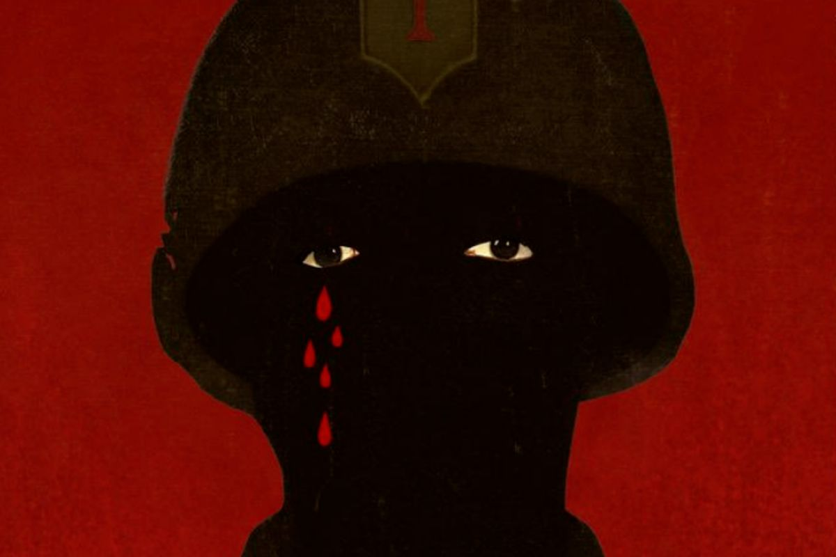 Imagen del cartel original de 'Da 5 bloods: hermanos de armas'.