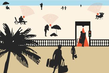 Así te vigilan los videosensores instalados en las playas españolas