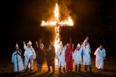 Boda de miembros del KKK, en 2015.