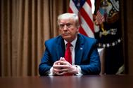 El presidente de EEUU, Donald Trump,