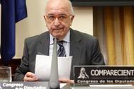 El excomisario de Competencia, Joaquín Almunia, compareció en la Comisión para la Reconstrucción del Parlamento y apostó por no prorrogar el marco que permite las ayudas de Estado en la UE.