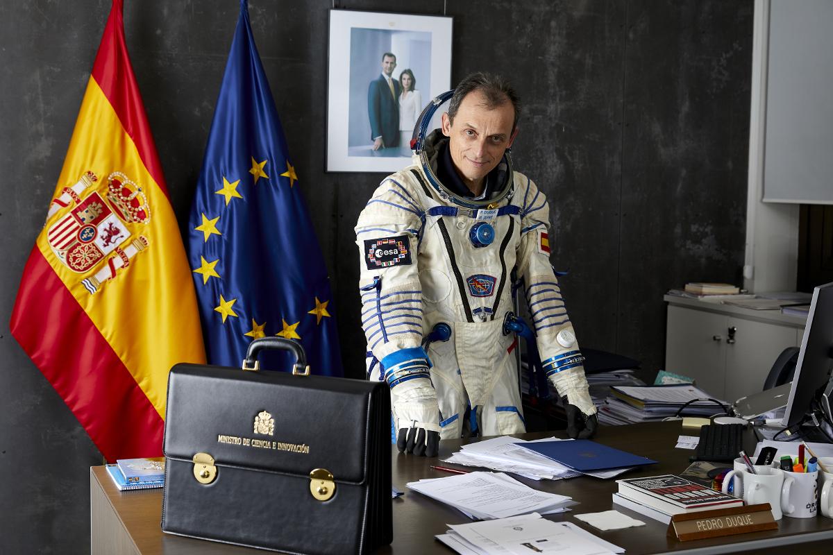 """La operación rescate del ministro Pedro Duque: """"Hoy volvería al espacio"""""""