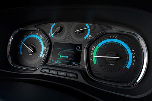 El nuevo cockpit incorpora información del sistema eléctrico.