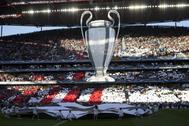 Ceremonia de la final de Champions de 2014.
