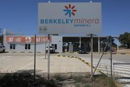 Oficina de la empresa Berkeley en Retortillo (Salamanca)