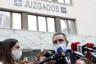 José Manuel Franco, tras su declaración ante la juez del 8-M.