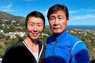 Ye Zhaoying y Hao Haidong, en un lugar del sur de España. CRÓNICA