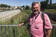 Santiago Martín Barajas, autor de 'Río Arriba'.