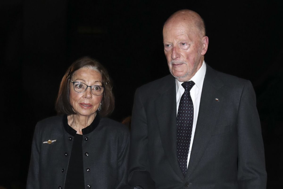 Margarita Gómez-Acebo y Simeón de Bulgaria se casaron en 1962.