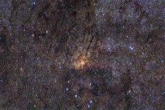 Región central de la Vía Láctea