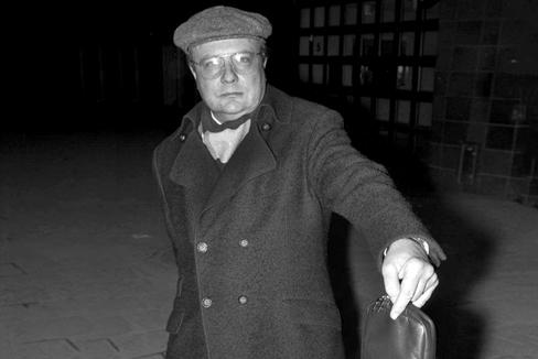 Stig Engström, conocido como 'el Hombre de Skandia'.