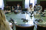 Reunión de la Junta de Portavoces, hoy, en el Congreso.