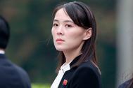 Kim Yo-jong, hermana del líder norcoreano Kim Yong Un, durante una visita a Vietnam en marzo de 2019.