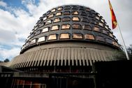 Edificio del Tribunal Constitucional, en Madrid.