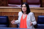 MADRID.- La ministra de Política Territorial, Carolina lt;HIT gt;Darías lt;/HIT gt;, durante su intervención este miércoles en el pleno del Congreso .
