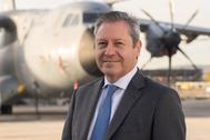 Alberto Gutiérrez, presidente de Airbus España.