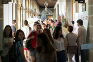 Imagen de ambiente en los Cursos de Verano de la UCM.