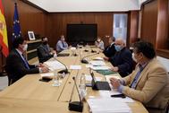 Reunión del último Gabinete de Crisis de la Junta por el coronavirus este miércoles.