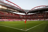Estadio José Alvalade, de Lisboa, sede del Benfica.