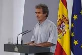 Fernando Simón, durante una de sus comparecencias.