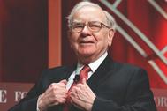 Warren Buffet enseñó a comparar el valor total de la bolsa con la riqueza del país.