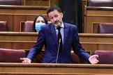 El portavoz parlamentario de Ciudadanos, Edmundo Bal, participa este miércoles en la sesión de control del Congreso.